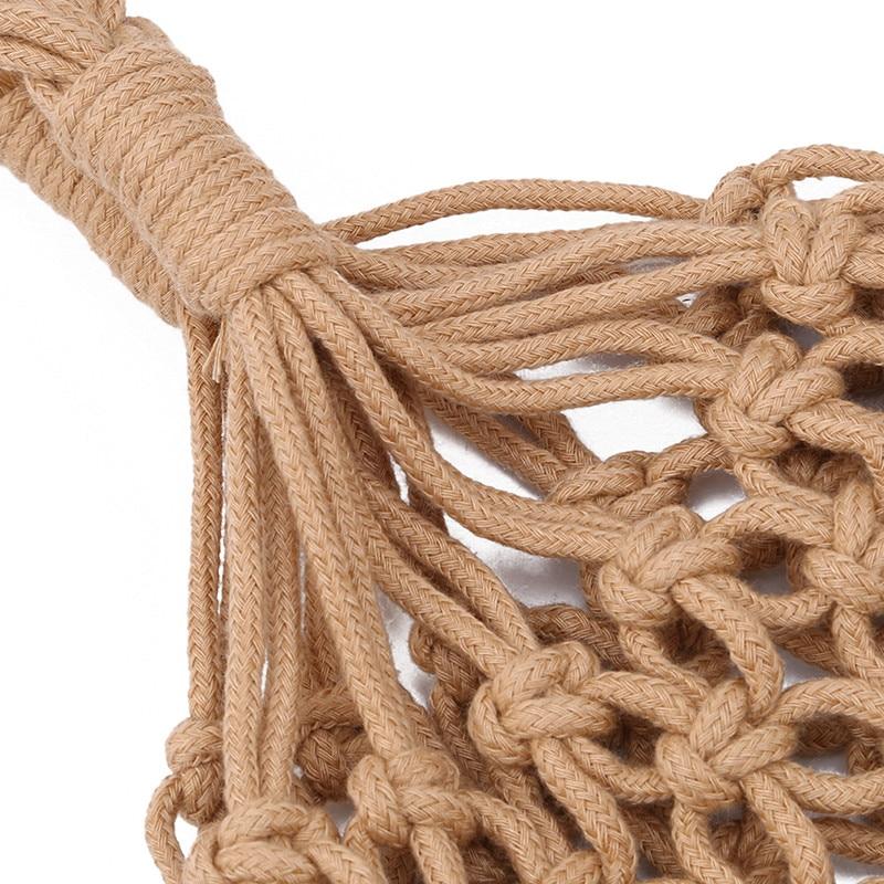 Sacos de Palha de Ombro Zipper Bolsas Crossbody Verão Boêmio
