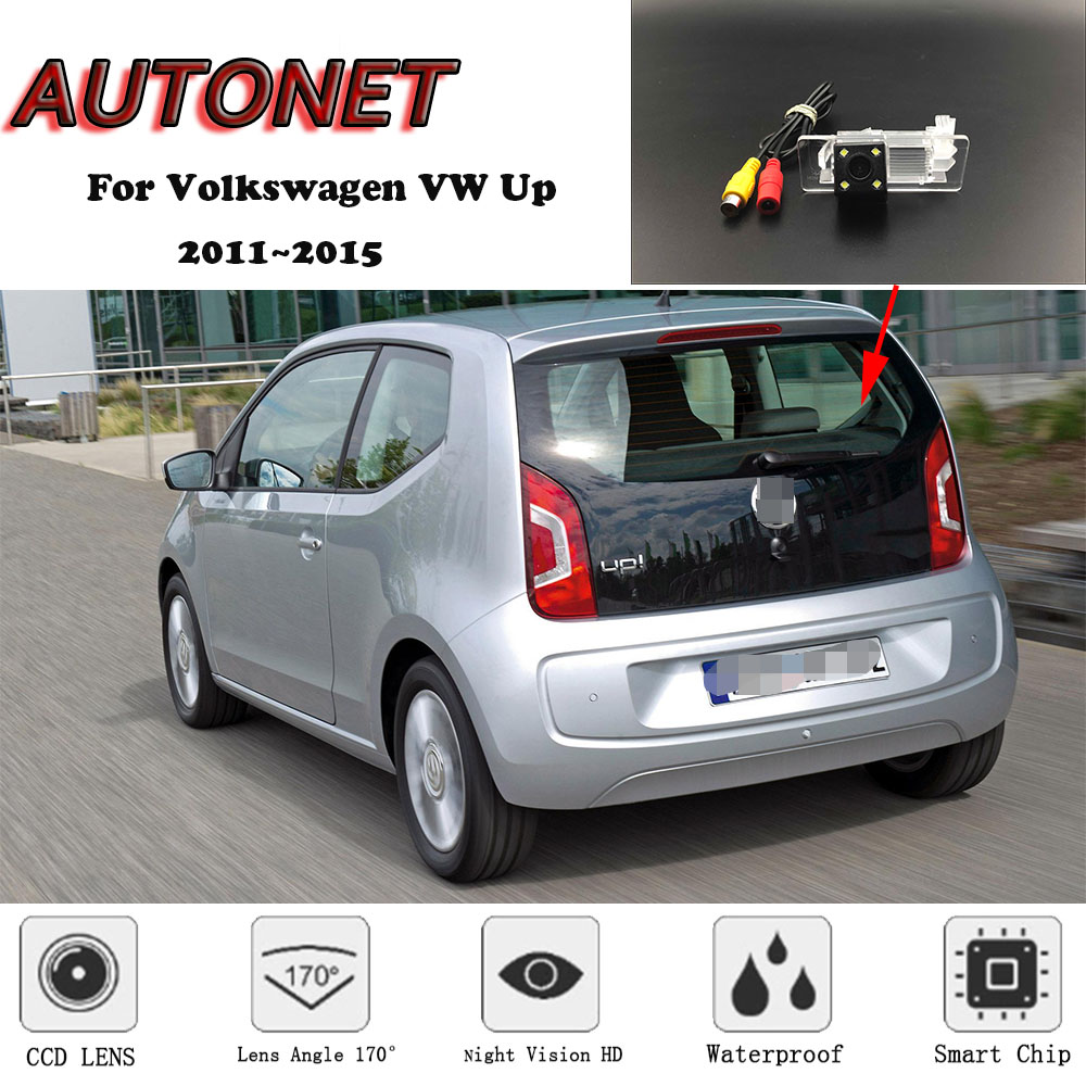 AUTONET Backup Rear View Camera For Volkswagen VW Up SEAT Mii Skoda Citigo 2011~2015 HD/CCD Night Vision/license Plate Camera