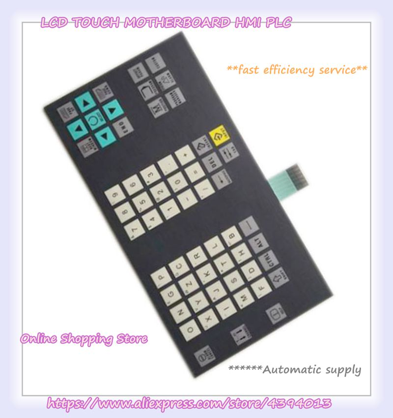 New original 6FC5303-0DM13-1AA0 802DSL Membrane keypad membrane keypad for 6av3515 1ma30 1aa0