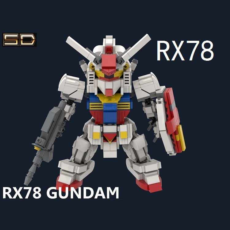 2018 Kennie New Arrive Personal diy 815+pcs RX78 gundam model Blocks building toys Action Figure for Creative children gifts
