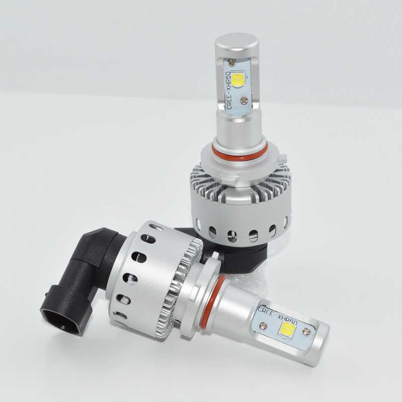 Super Bright 9005 LED Car Headlights HB3 9006 LED HB4 80W Auto Front Bulb Automobiles Headlamp White 6000K car-styling