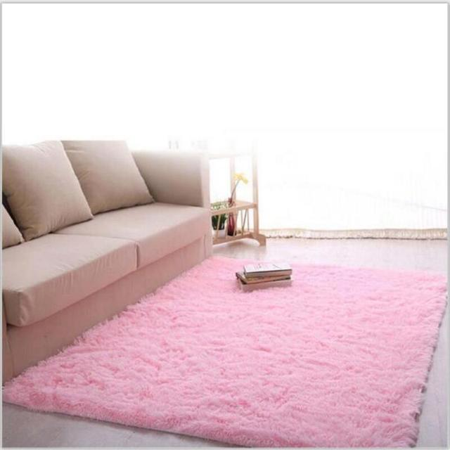 Hot Sale 60*90cm Super Soft Modern Bedroom Rugs Area Rugs Slip Resistant  Floor Mats Part 51