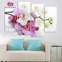 Diamant stickerei lilacs flores Diamant malerei voll platz triptychon mosaik-muster Strass für hand diy foamiran
