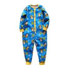 Модный высококачественный комбинезон с длинными рукавами из хлопка для маленьких мальчиков и девочек, комбинезон, одежда для малышей