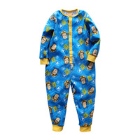 FIREMAN SAM Clothing Set Cartoon Cotton Romper Boys Romper Baby Jumpsuits Pajamas Suitable For 2 7years