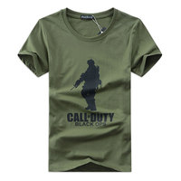 Zomer T-shirts Mannen Special Forces Soldaat Swat OPS Print Katoen Tops Militaire Tactical Camouflage Korte Koker