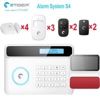 Wireless home security alarmanlage kits mit low batterie alarm funktion-in Alarm System Kits aus Sicherheit und Schutz bei
