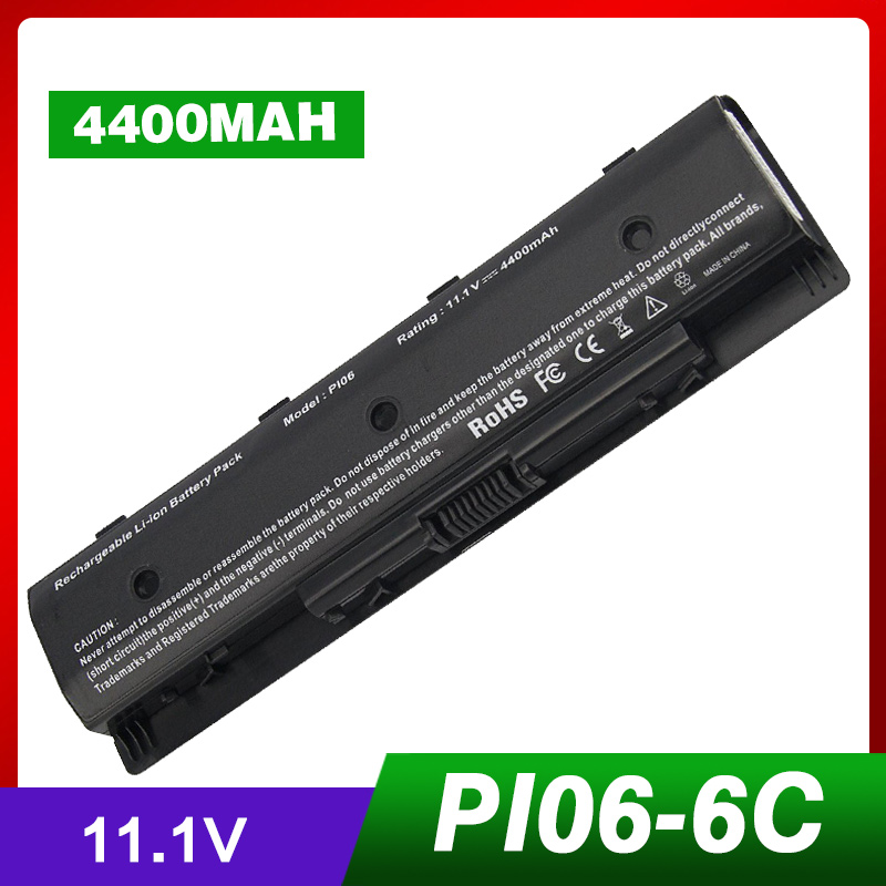 4400mAh 11.1v Battery for Hp PI06 P106 PI06XL PI09 HSTNN-LB4N HSTNN-LB4O HSTNN-YB4N HSTNN-YB4O for Envy TouchSmart 14 15 174400mAh 11.1v Battery for Hp PI06 P106 PI06XL PI09 HSTNN-LB4N HSTNN-LB4O HSTNN-YB4N HSTNN-YB4O for Envy TouchSmart 14 15 17