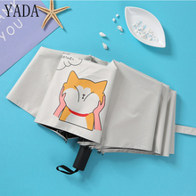 YADA Cute Design Cartoon Dogs Pattern Folding Rainy Children Umbrella Anti-UV Girls Boys Gift Lovely Animal New YD011