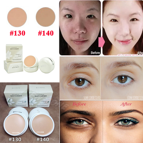 SPF 30 Makeup Concealer Cream Face Flawless Creme Foundation Hide Blemish Conceal Dark Circle Redness Acne Perfect Cover 20G