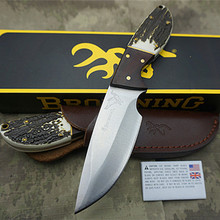 HOT Browning military high quality OEM portable tactical knife camping survival tool outdoor hunting knife