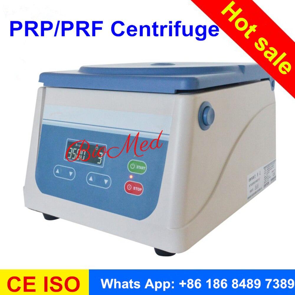 2017 PRP centrifugeuse avec angle rotor 8 tube 15 ml fit pour différents prp tube et PRP kit