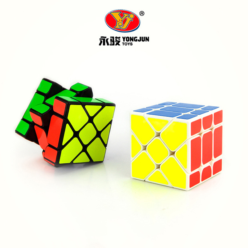 Puzzles & Games 15pcs Yj Yongjun 57mm Strange-shape Magic Cube Professional Neo Cube Speed Smooth Puzzle Cubo Magico Education Toy For Children Toys & Hobbies
