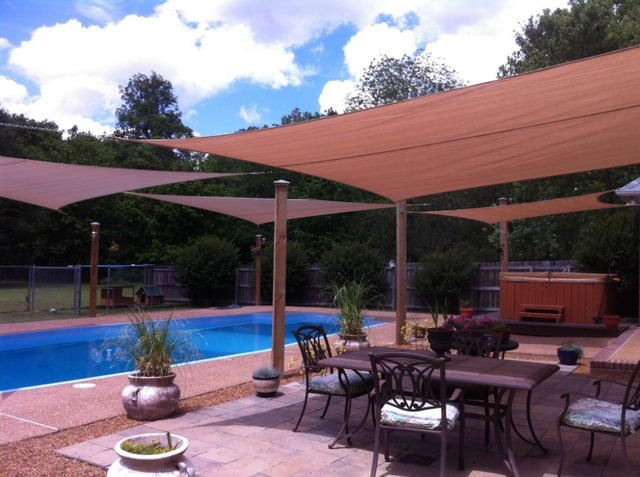 Coolaroo Rectangle Sun Shade sail 4x7M/pcs Residential Sun Sail Net u0026 ROPE AWNING CANOPY : coolaroo canopy - memphite.com