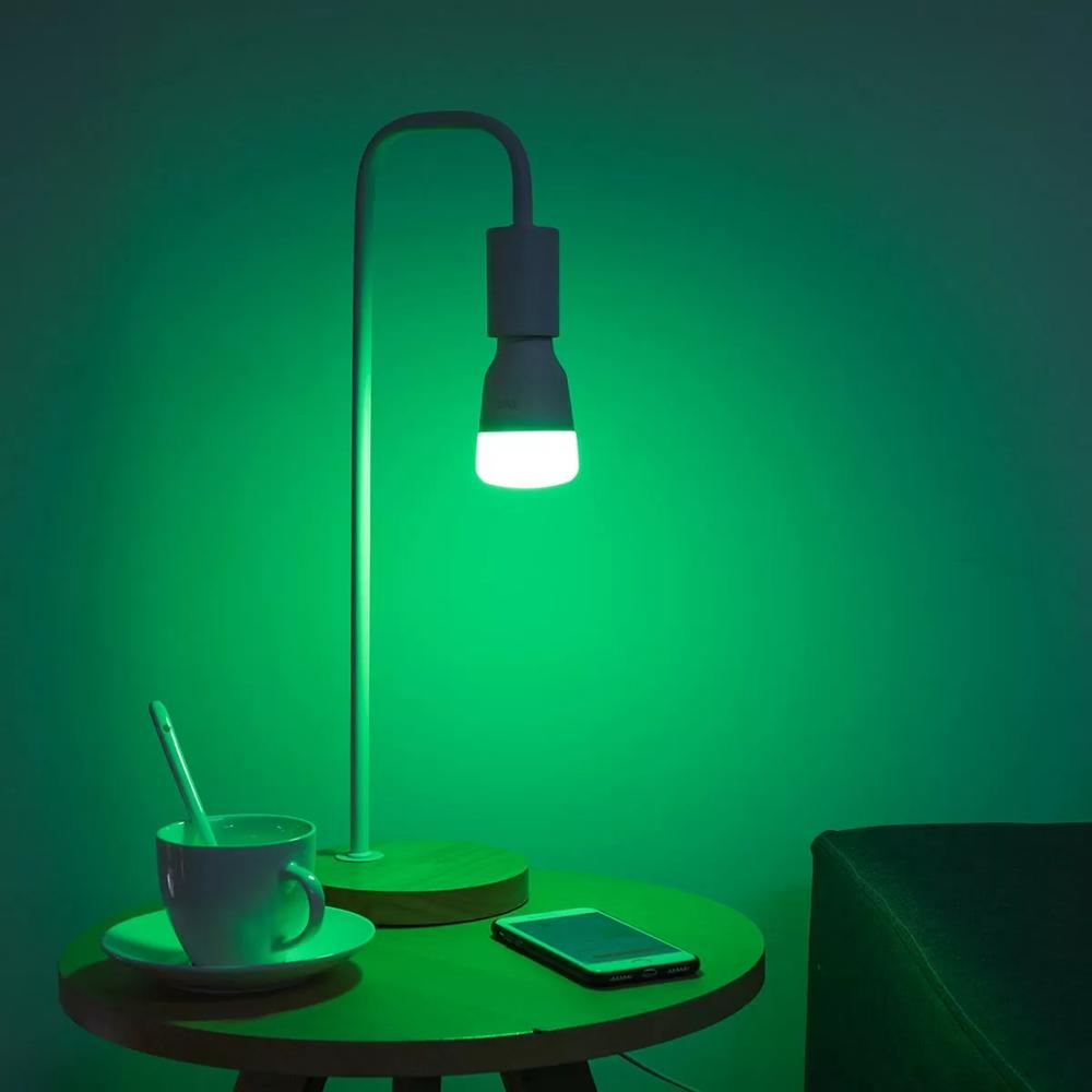Xiaomi Mijia Yeelight YLDP06YL E26 /E27 10W RGBW Smart LED Bulb Work With Amazon Alexa AC100-240V(Xiaomi Ecosystem Product)