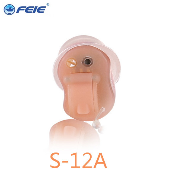 High Quality Personal Sound Amplifier Micro Ear 4 Channels Programmable Digital ITC Hearing Aid S-12A RIGHT EAR  Free Shipping open fitting programmable bte hearing aid 7 channels sound hearing amplifier for treatment tinnitus my 26 battery free shipping