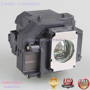 Image 5 - For ELPLP58 EB X92 EB S10 EX3200 EX5200 EX7200 EB S9 EB S92 EB W10 / EB W9 / EB X10  EB X9 for EPSON projector lamp with housing
