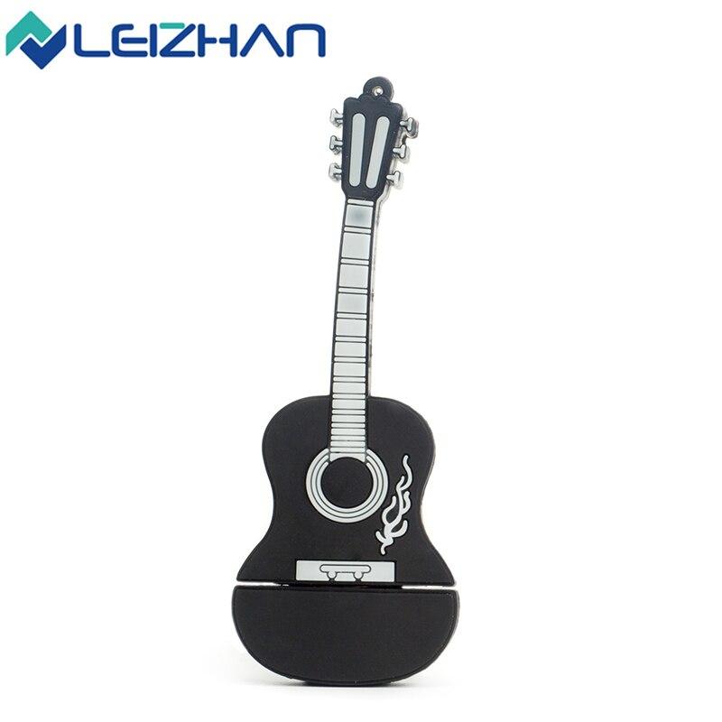 Leizhan instrumento musical de la guitarra usb flash drive 4g 8g 16g 32g Pen Dri