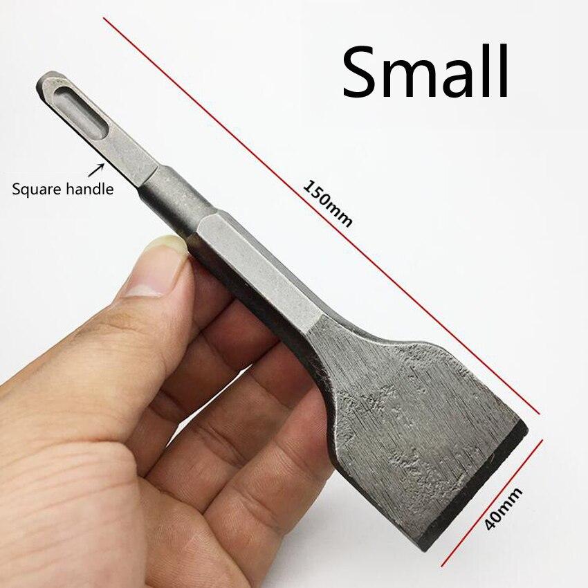 Mini trapano elettrico a scalpello a martello quadrato 150MM / 250MM - Punta da trapano - Fotografia 2