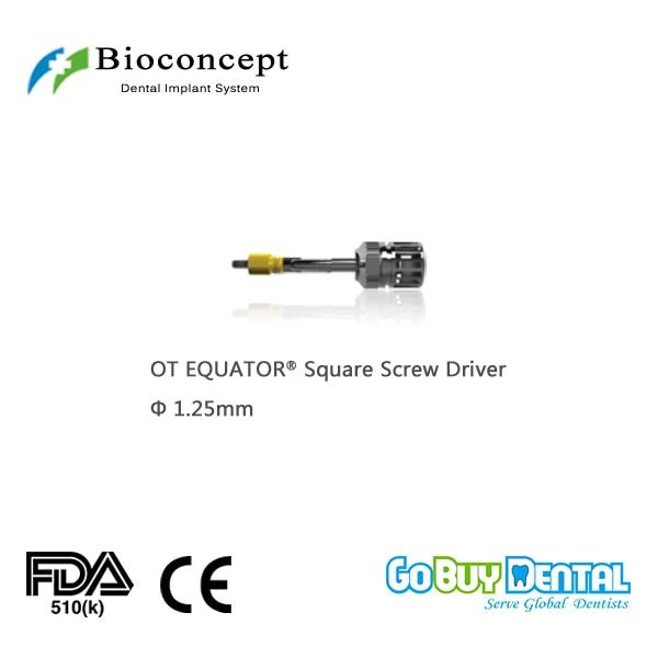 где купить OT EQUATOR All On 4 System Square Screw Driver for Osstem TSIII & Hiossen ETIII compatible BV System, D1.25mm(358010) по лучшей цене