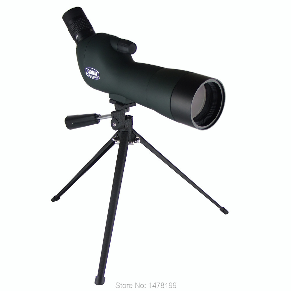 GOMU 15-45x50 AE zoom telescopio monocular telescope HD binoculars Spotting Scopes night vision  Bird Watching hot selling 15 40x50 zoom hd monocular bird watching telescope binoculars with portable tripod spotting scope blue coating