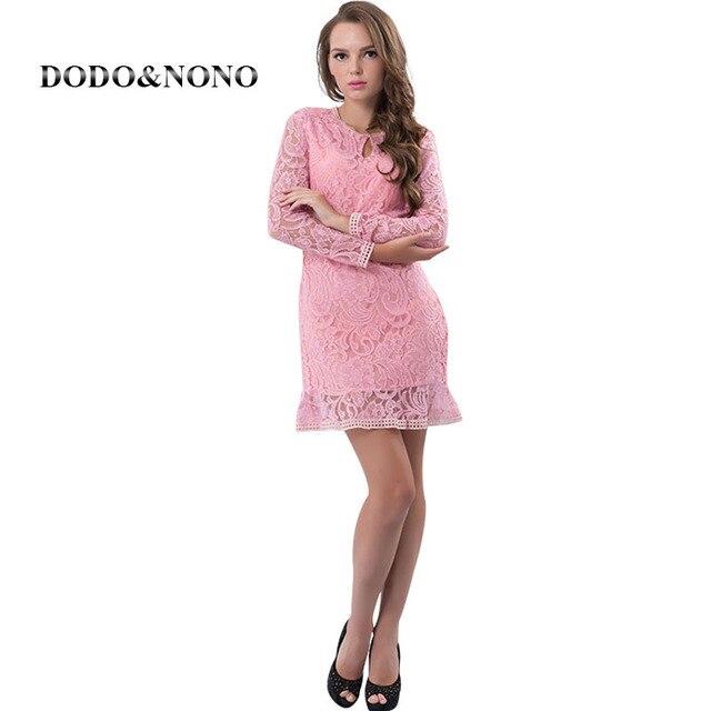 Llegan nuevos Vestidos Casuales Las Mujeres de Moda Vestido de ...