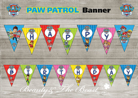 photograph relating to Paw Patrol Printable Decorations identify US $8.13 26% OFFDogs Banner Little one Shower Birthday Get together Decorations Young children Party Get together Resources Patroling Get together Printable sweet bar-within Banners,
