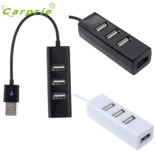 CARPRIE 4-Port Splitter Hub Adapter Mini USB 2.0 Hi-Speed For PC Computer Jan16 MotherLander
