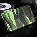 Camuflaje diseño funda de piel para apple iphone 5 5s se plástico duro teléfono móvil de la contraportada para iphone 5 5s se lujo bolsa de coque