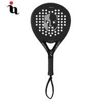 IANONI PaddleBall Racket Men Hot Padel Raqueta Cool Transformers Pattern Full Carbon Fiber EVA Professional Overgrip Cricket Bat