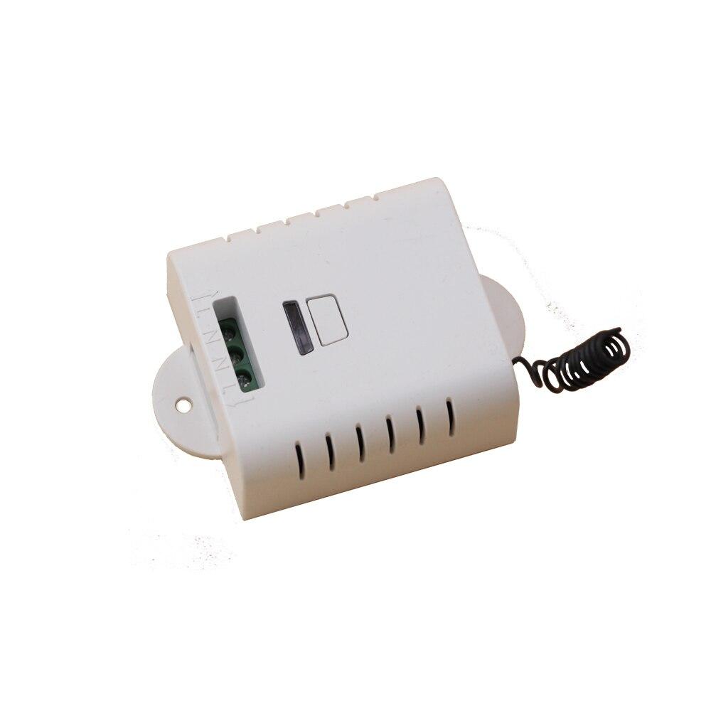 AC85V110V 120 V 220 V Interruptor de Control Remoto Inalámbrico con Botón Manual 4 Receptor 1 Transmisor Smart Home 315/433 MHZ