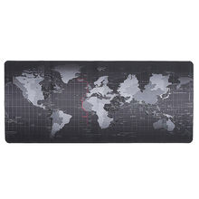 Large Size 70*30cm World Map Speed Game Mouse Pad Mat Gaming Mouse Mat Game Computer Desk Mouse Mat for Gamer