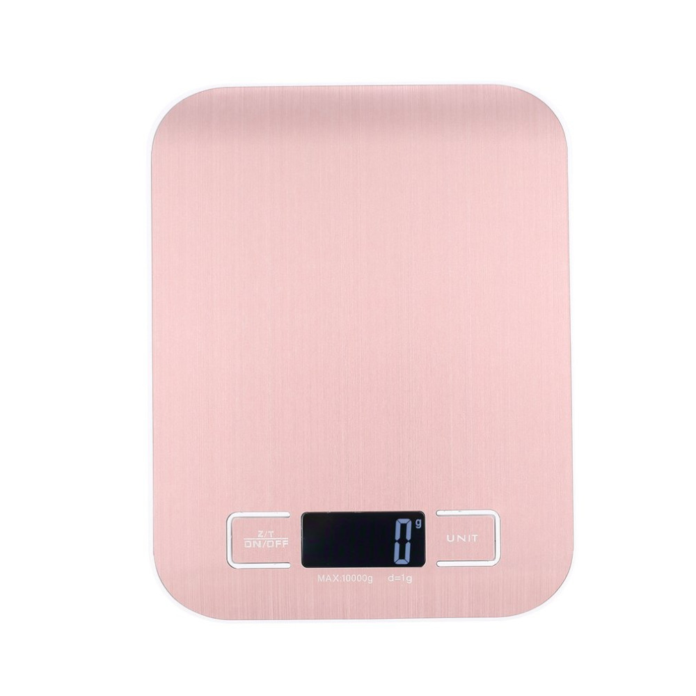 Household precision 10kg1g electronic digital scale 5 kg weight food kitchen scale small stainless steel electronic scale Весы
