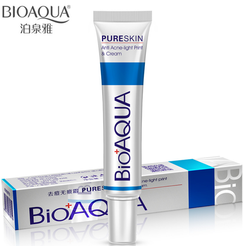Bioaqua 30g Anti Acne Cream / Oil Control / Shrink Pores/ Acne Scar Remove/ Face Care