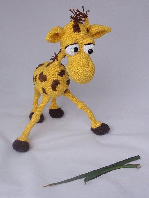 Amigurumi Häkeln Giraffe Spielzeug Puppe Rasseln In Amigurumi Häkeln