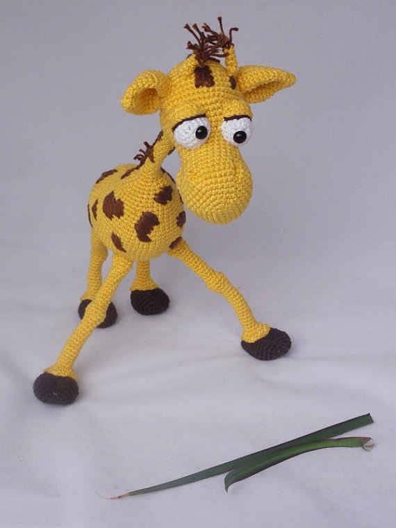 Jirafa Crochet - Amigurumi - Juguetes Bebes Y Niños | 760x570