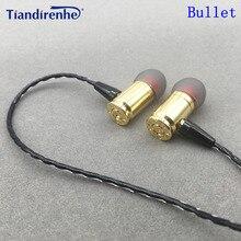 Nowy 1DD dynamiczny DIY Bullet słuchawki douszne spersonalizowane wymienny wymienny Sport muzyka zestaw słuchawkowy do iPhonea Samsung Xiaomi