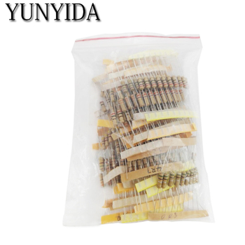 цена на 300pcs Resistor Kit 1W 5% 30values X 10pcs   1K-820K ohm  1W Carbon Film kit