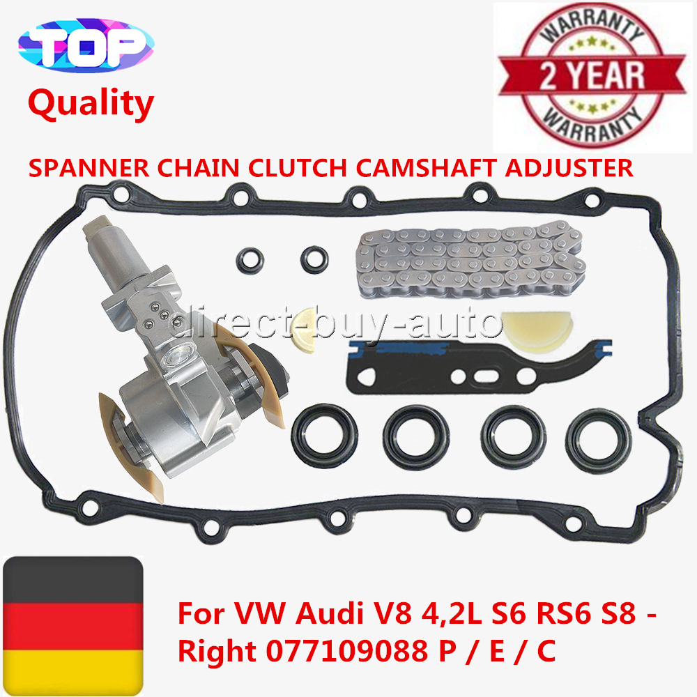 SPANNER CHAIN CLUTCH CAMSHAFT ADJUSTER For VW Audi V8 4,2L S6 RS6 S8 - Right 077 109 088 P / E / C