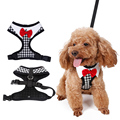 Fashion Cute Bow Tie Dog Harnesses Collar Chest Straps 5 Sizes Pet Vest for Small Dogs Chihuahua Teddy Pet Supplies