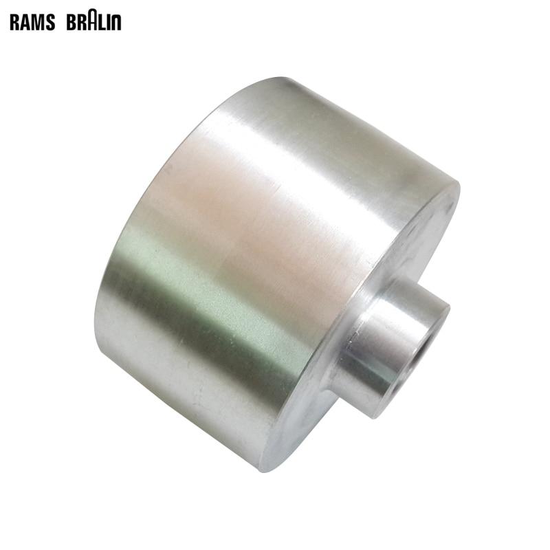 120 70 20 24 19mm Fully Aluminum Contact Wheel Backstand Idler Wheel customized