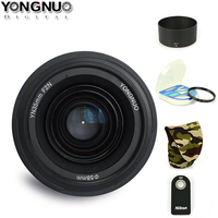 Yongnuo YN35mm F2 Lens Wide Angle Large Aperture Fixed Auto Focus Lens For Nikon D7100 D3200