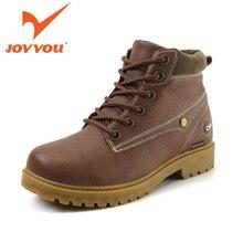 JOYYOU Brand Boy Girl Winter Ankle Martin Boots Size31-40 Kids Warm School Shoes Children Teenage Footwear Fashion Leisure Shoes