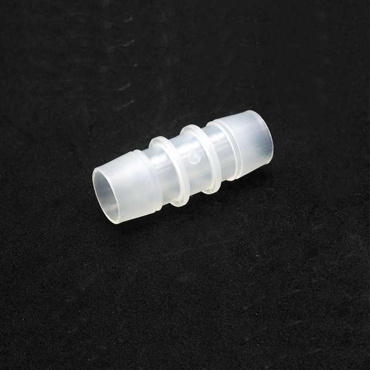 Dia 3.2mm ~ 25mm Su Konnektörü PP PE Gıda Sınıfı Eşit Düz In-line Boru Boru Hortumu sulama Bağlantı Adaptörü Konik Kafa Temizle