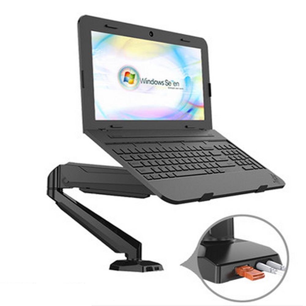 HONGHUA SPCC laminage à froid en acier pince de mouvement complet support de bureau support d'ordinateur portable support d'affichage avec Port Audio et USB