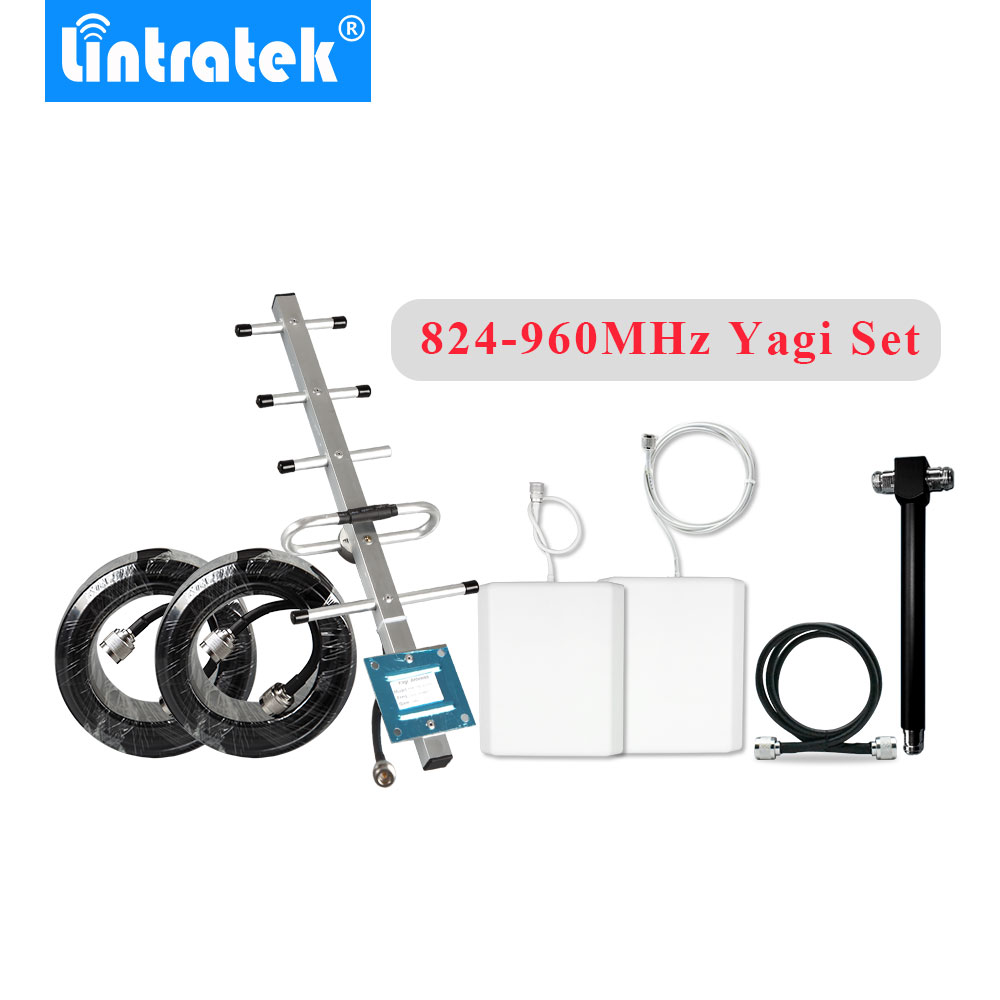 GSM900MHz 3G850MHz Yagi Antenna Cable Full Set Accessories for Mobile Signal Repeater Booster Big Area Coverage Panel Antennas@GSM900MHz 3G850MHz Yagi Antenna Cable Full Set Accessories for Mobile Signal Repeater Booster Big Area Coverage Panel Antennas@