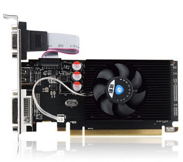 New Original Desktop Graphics Card HD6450 2G D3 625/1066MHZ Independent Game Video Card New R7-350 2G DDR5 card free shippin
