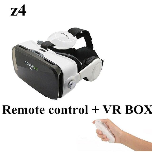 VR 2.0 BOBOVR Z4 мини 3D Очки Виртуальной Реальности очки google Картон с гарнитуры для iPhone & Android 4.7-6 смартфон