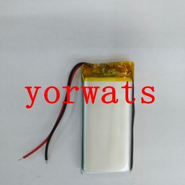 New Hot A Rechargeable Li-ion Cell  3.7V Polymer Lithium Battery 602245 062245 Direct E-book Digital MP5 Navigator