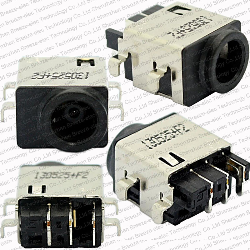 1~100pcs/lot Original DC Power Jack Port Socket Connector For Samsung NP-RC510 RF510 RF710 RV408 RV420 RV508 RV511 RV513 RV515 100 pcs free shipping new dc jack for samsung rv500 rv511 rv509 rv515 rv520 rv720 rv530 rv515 rv420 dc power jack port socket